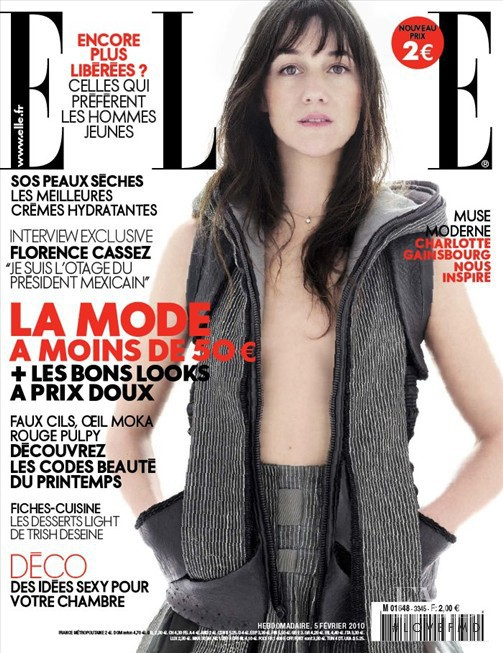 featured on the Elle France cover from February 2010