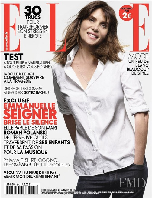 featured on the Elle France cover from January 2010