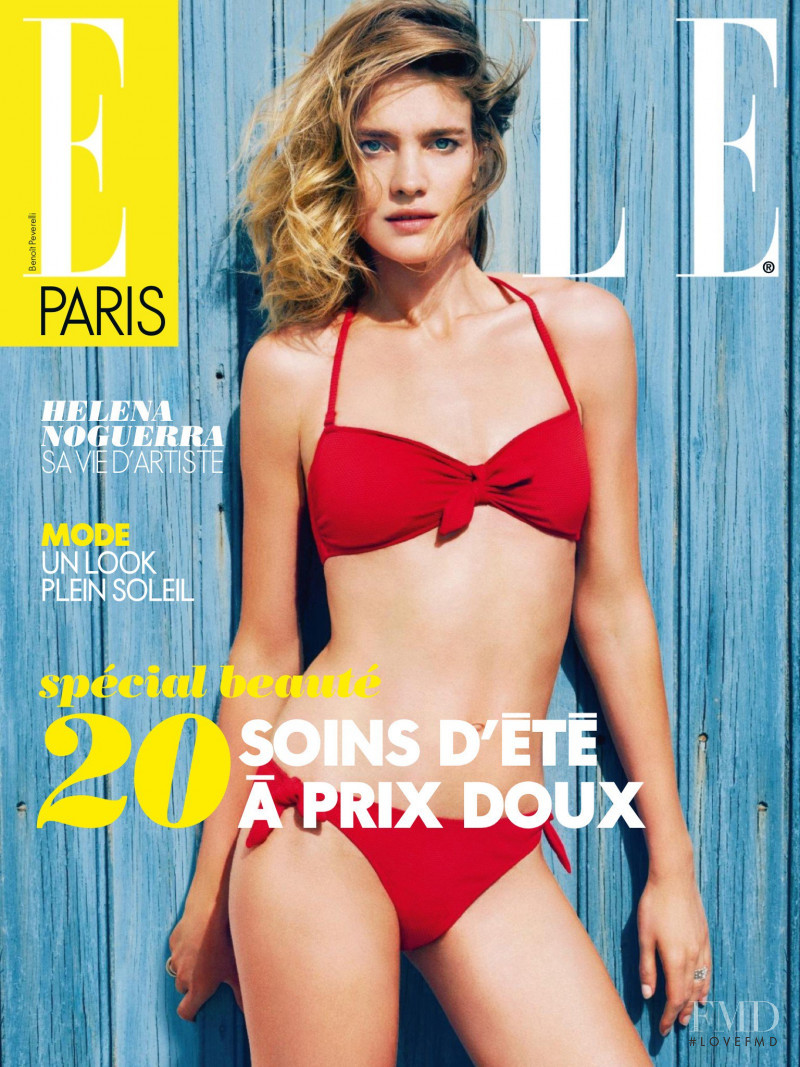 Natalia Vodianova featured on the Elle France cover from June 2013