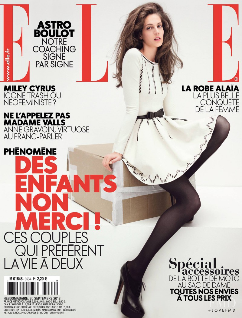 featured on the Elle France cover from September 2013
