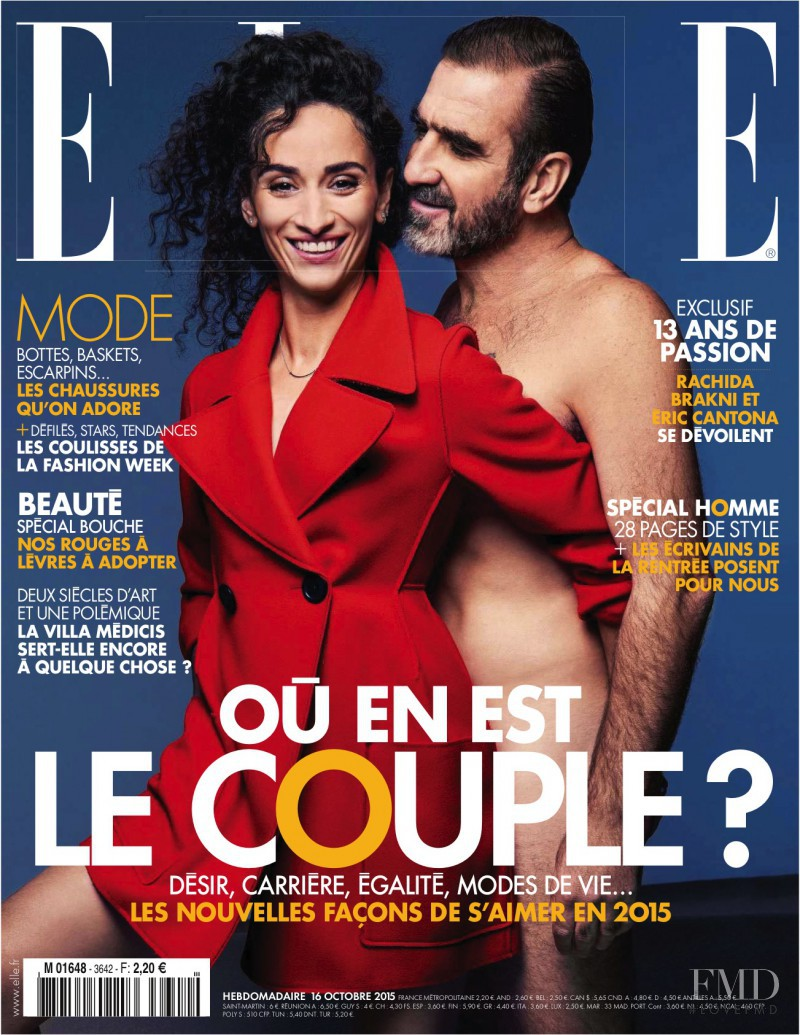 Gabriele Regesaite featured on the Elle France cover from October 2015
