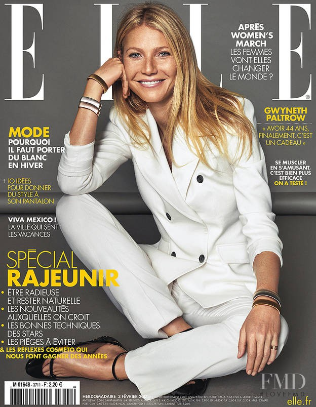 featured on the Elle France cover from February 2017