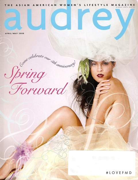 Isabelle Du featured on the Audrey Magazine cover from April 2008