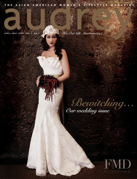 featured on the Audrey Magazine cover from April 2009
