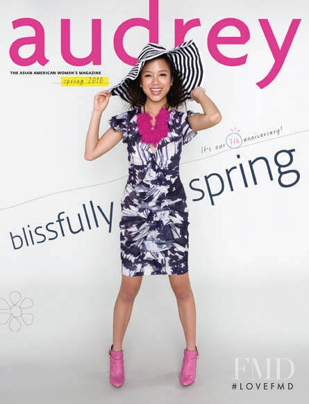featured on the Audrey Magazine cover from March 2010