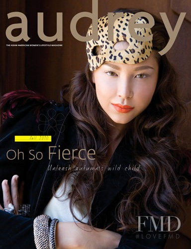 featured on the Audrey Magazine cover from September 2010