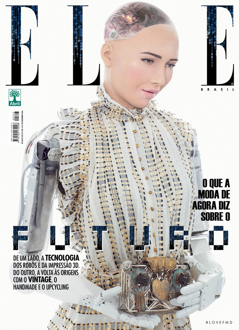featured on the Elle Brazil cover from December 2016