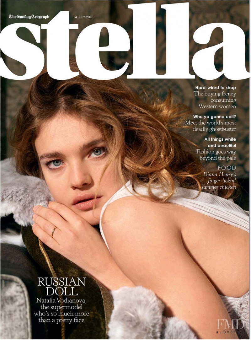 Natalia Vodianova featured on the Stella cover from July 2013