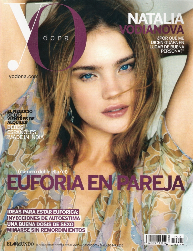Natalia Vodianova featured on the Yo Dona cover from December 2009