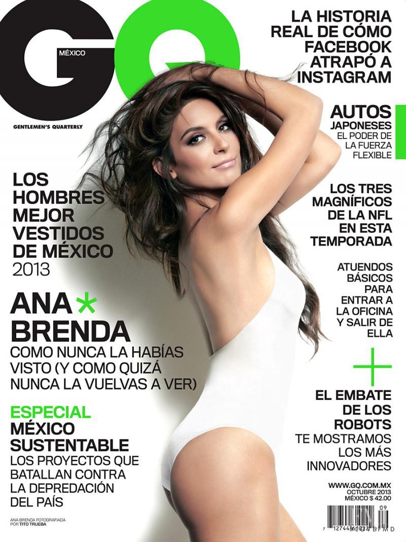 Ana Claudia Talancon Instagram cover of gq mexico with ana brenda contreras, october 2013