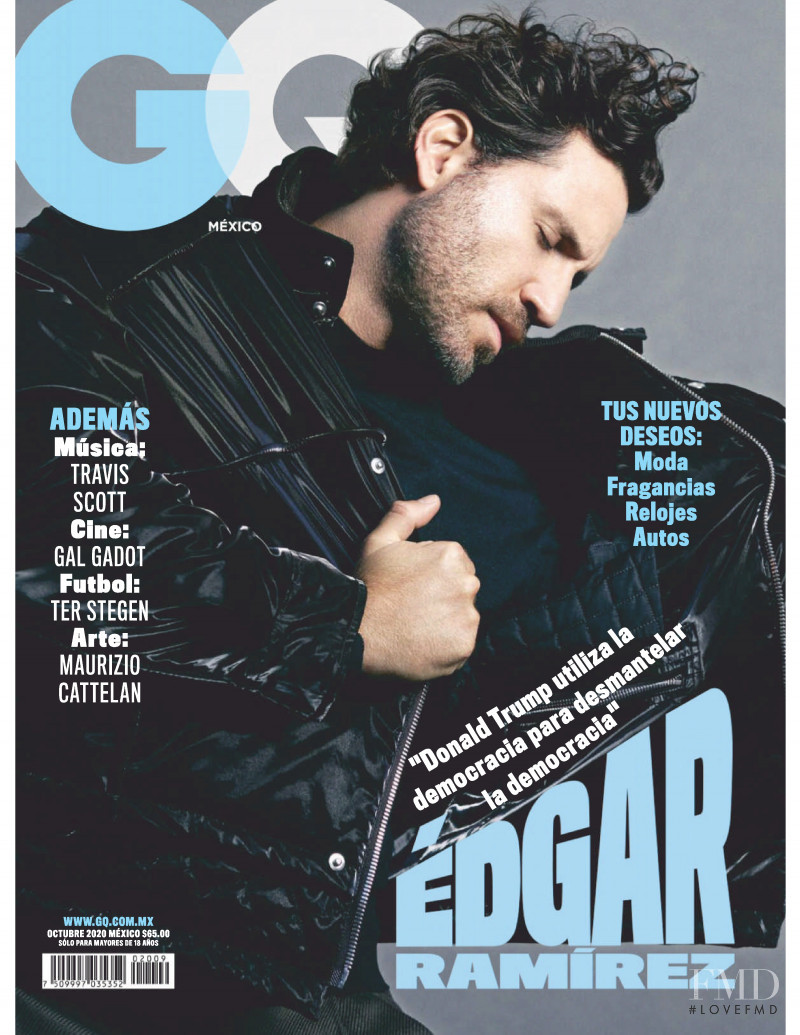 featured on the GQ Mexico cover from October 2020