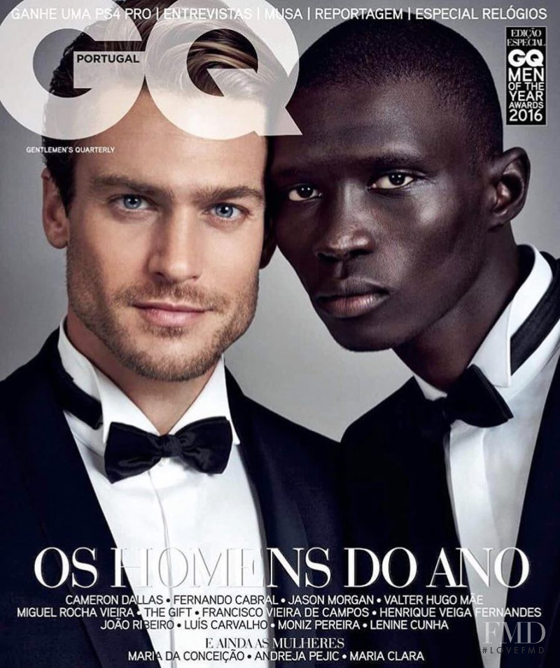 Fernando Cabral, Jason Morgan featured on the GQ Portugal cover from November 2016