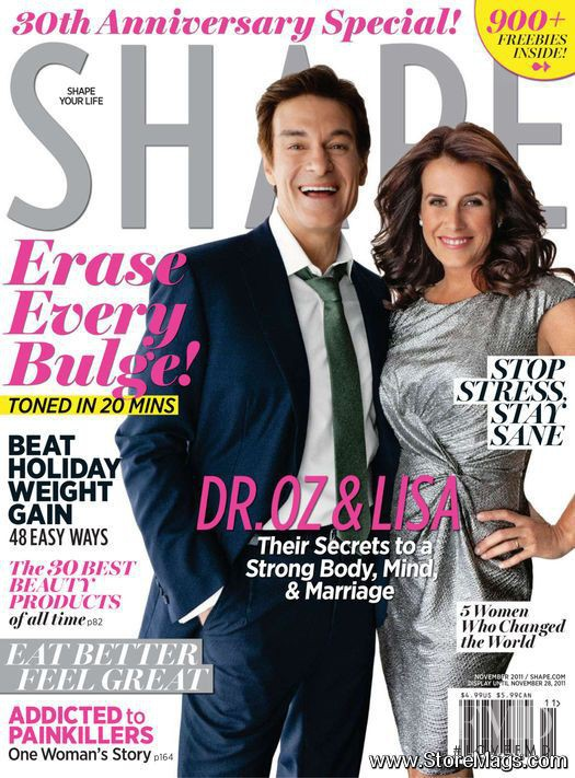 featured on the Shape USA cover from November 2011