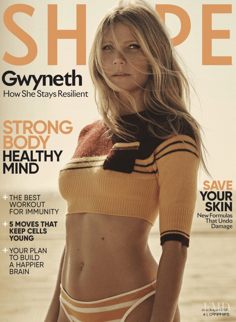 Gwyneth Paltrow featured on the Shape USA cover from July 2020