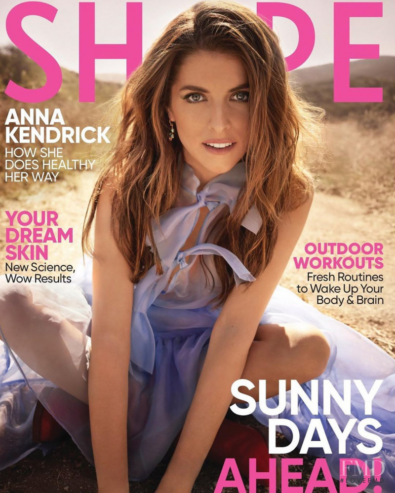 Anna Kendrick featured on the Shape USA cover from June 2020
