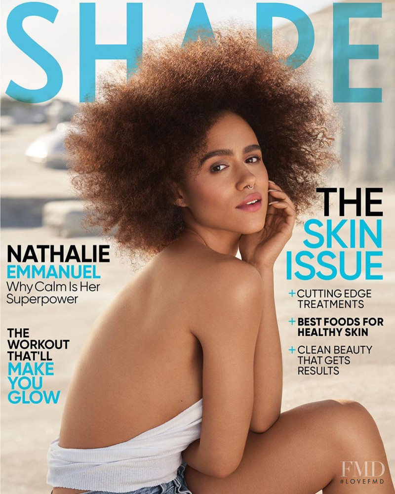 Nathalie Emmanuel featured on the Shape USA cover from May 2020