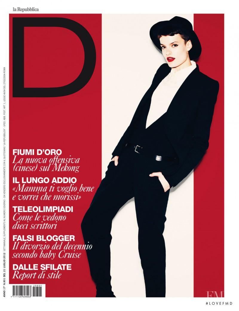 Paula Bertolini featured on the La Repubblica delle Donne cover from July 2012