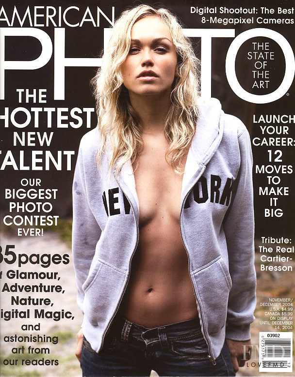 Pernille Andersen featured on the American Photo cover from November 2004