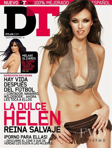 Helen Lindes featured on the DTLux cover from July 2010