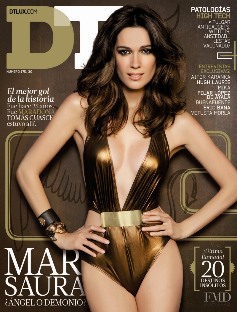 Mar Saura featured on the DTLux cover from June 2011
