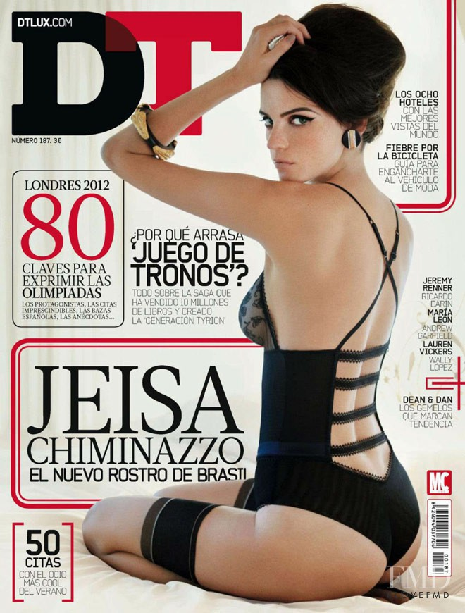 Jeisa Chiminazzo featured on the DTLux cover from July 2012
