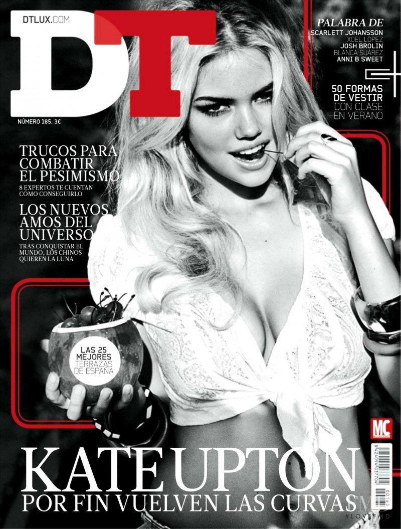 Kate Upton featured on the DTLux cover from May 2012