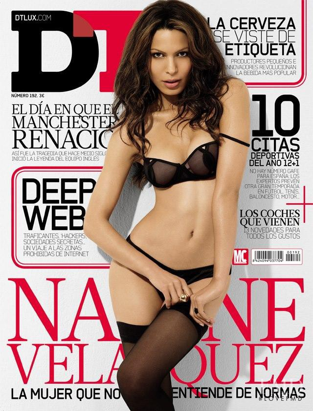 Nadine Velasquez featured on the DTLux cover from January 2013