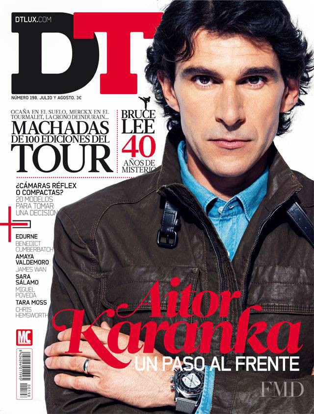 Aitor Karanka featured on the DTLux cover from July 2013