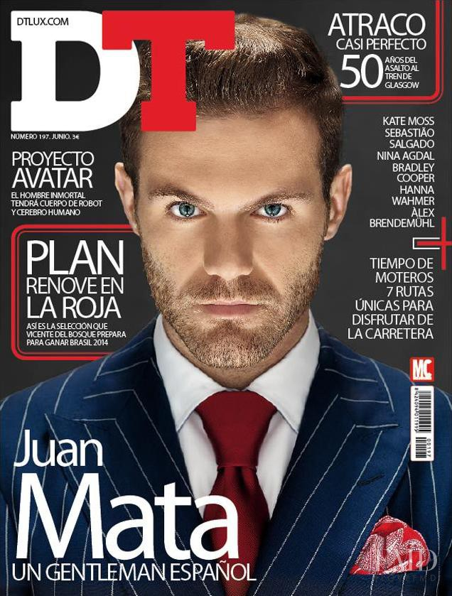 Juan Mata featured on the DTLux cover from June 2013