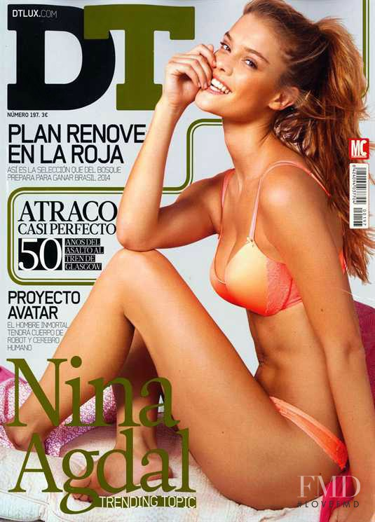 Nina Agdal featured on the DTLux cover from June 2013