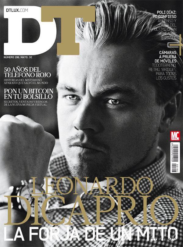 Leonardo DiCaprio featured on the DTLux cover from May 2013