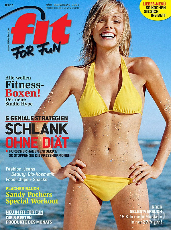 free shipping 467e4 eedaa Cover of Fit for Fun with Autumn Armstrong, March 2011 (ID ...