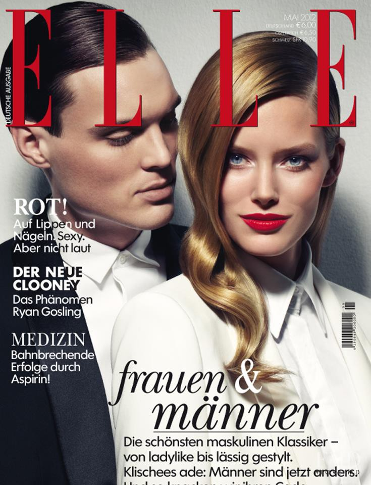 Kid Kyrill featured on the Elle Germany cover from May 2012