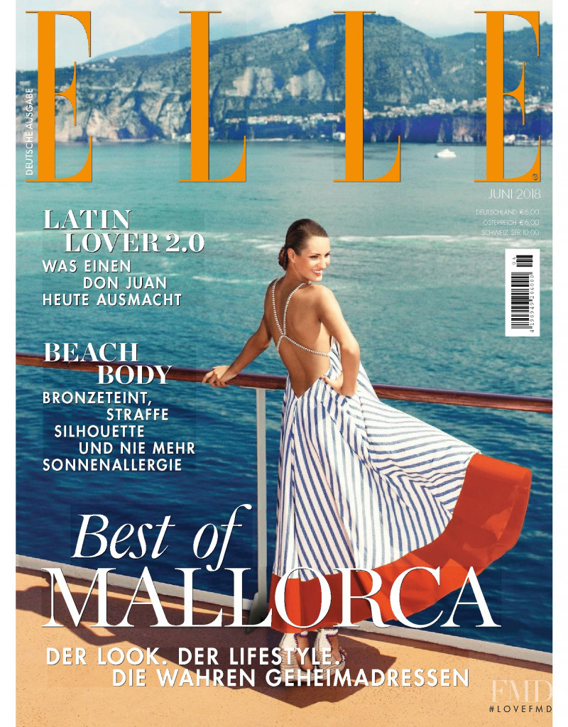featured on the Elle Germany cover from June 2018