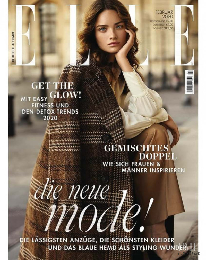 featured on the Elle Germany cover from February 2020