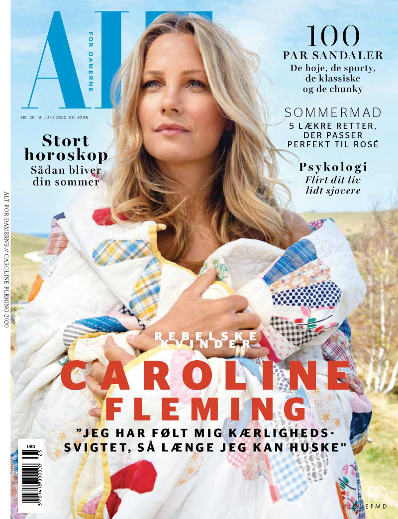 Caroline Fleming featured on the ALT for damerne cover from June 2020