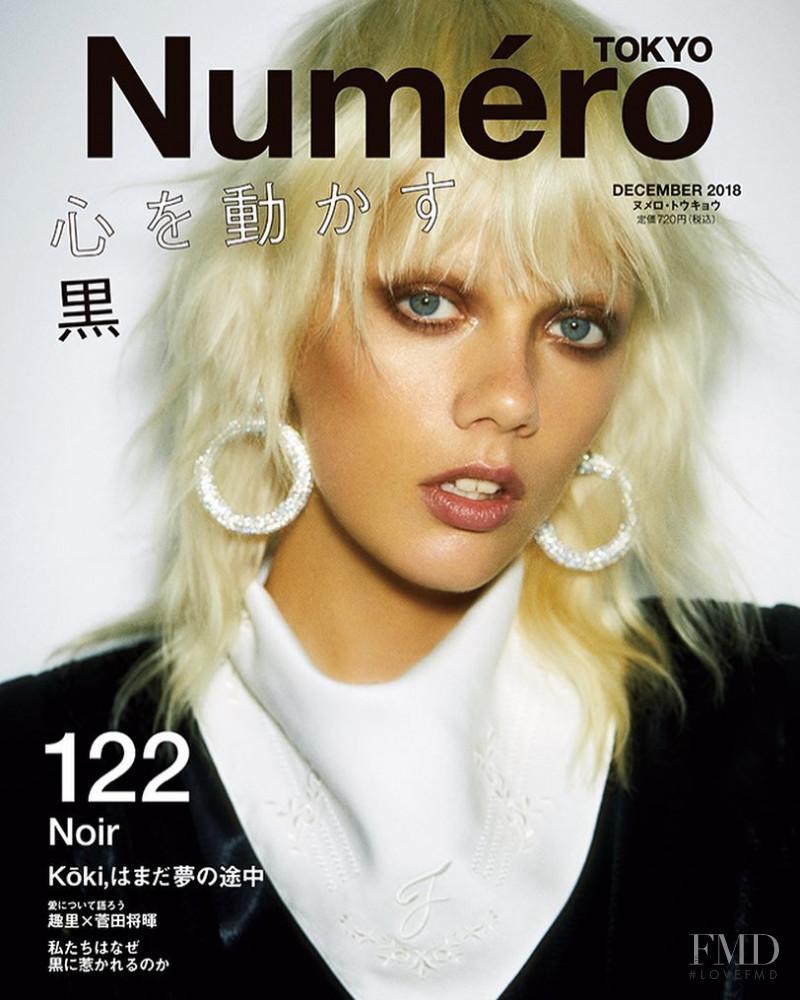 Marjan Jonkman featured on the Numéro Tokyo cover from December 2018