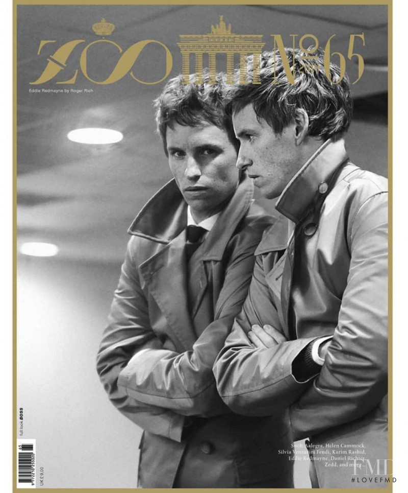 Eddie Redmayne featured on the Zoo cover from December 2019