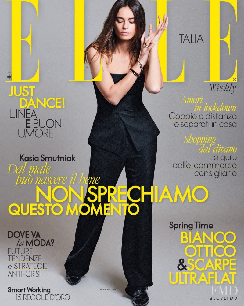 featured on the Elle Italy cover from April 2020