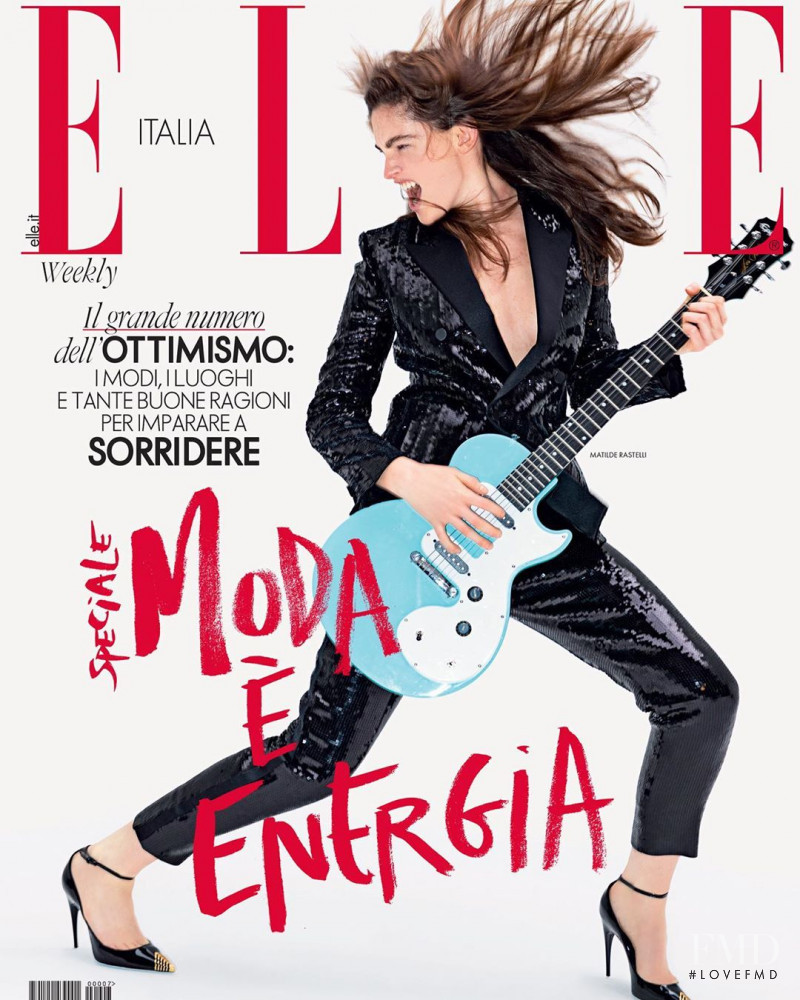 featured on the Elle Italy cover from February 2020