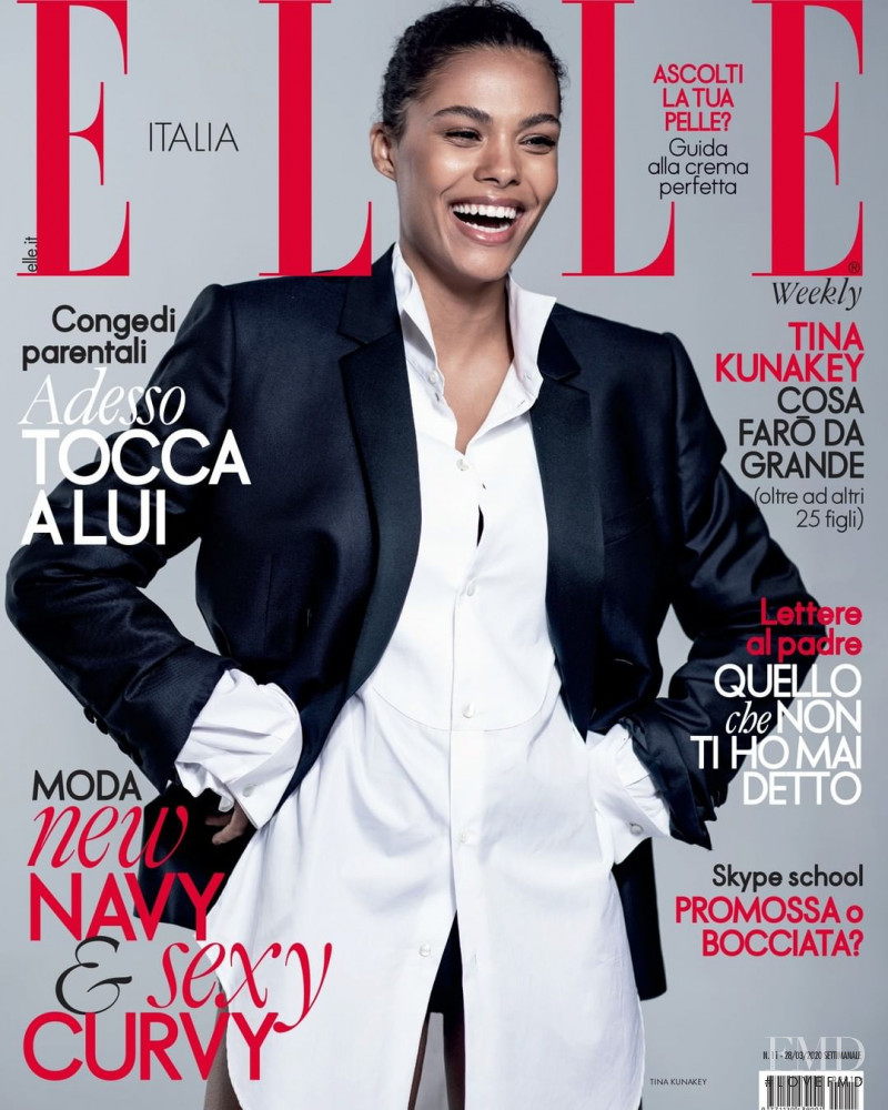 featured on the Elle Italy cover from March 2020