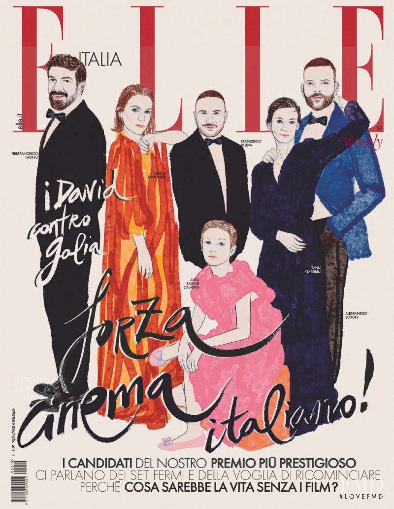 featured on the Elle Italy cover from May 2020