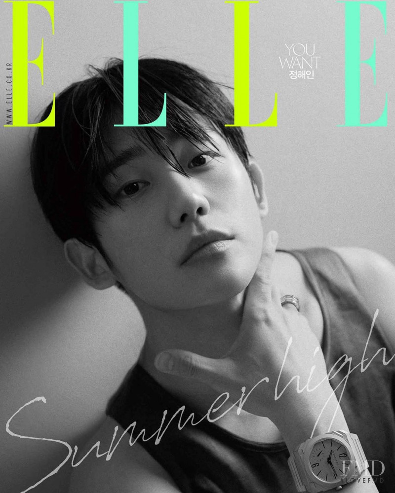 featured on the Elle Korea cover from August 2019