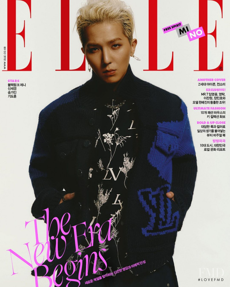 featured on the Elle Korea cover from September 2020