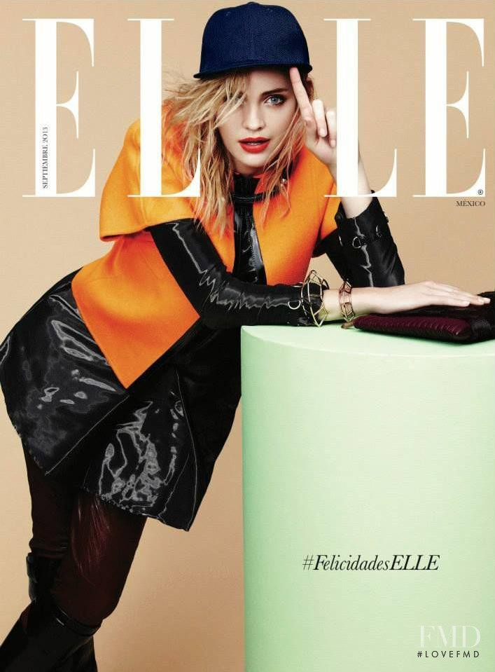 Heidi Mount featured on the Elle Mexico cover from September 2013