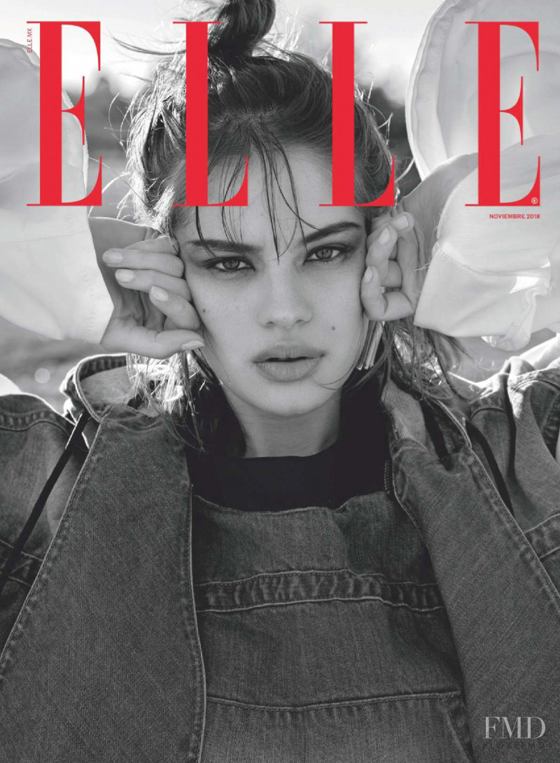 featured on the Elle Mexico cover from November 2018
