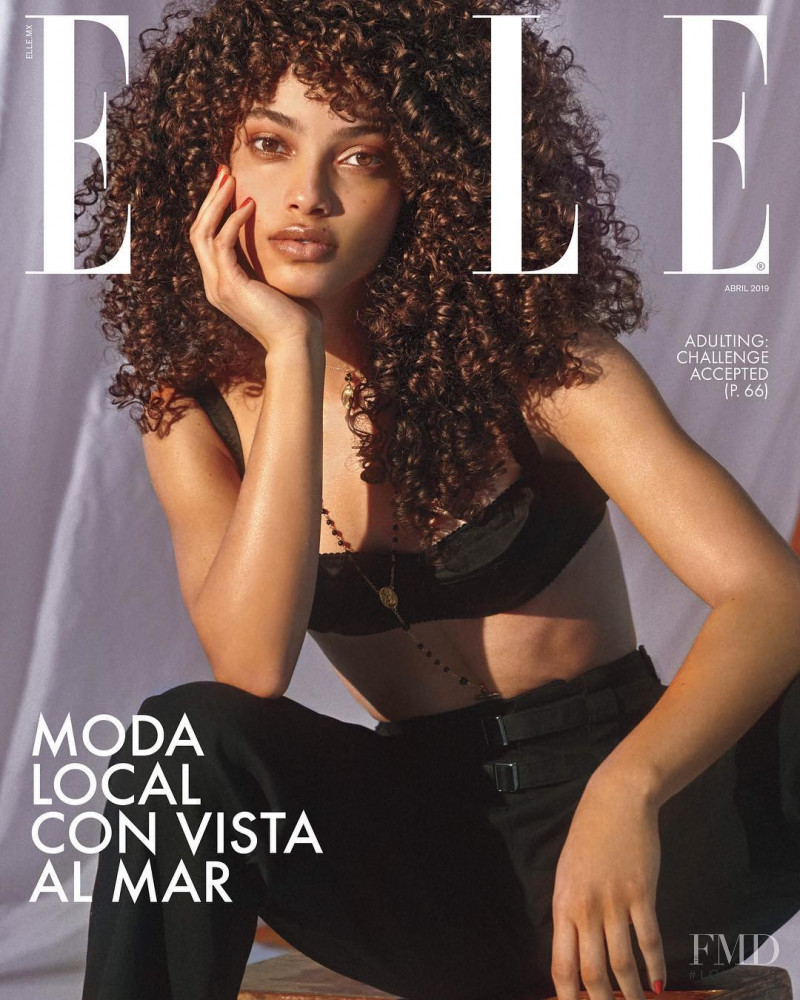 featured on the Elle Mexico cover from April 2019