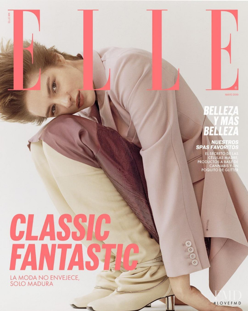 featured on the Elle Mexico cover from May 2019