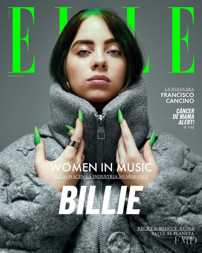 featured on the Elle Mexico cover from October 2019