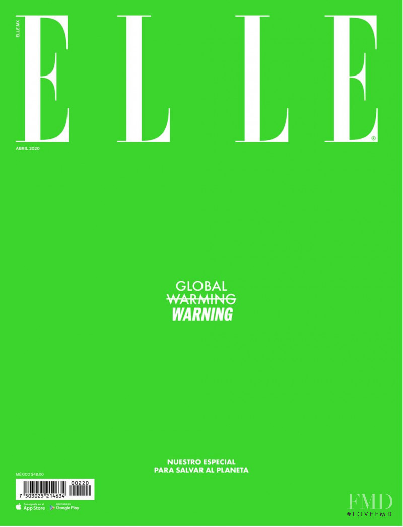 featured on the Elle Mexico cover from April 2020